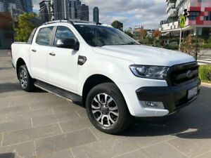 2017 Ford Ranger PX MkII Wildtrak White Sports Automatic South Melbourne Port Phillip Preview