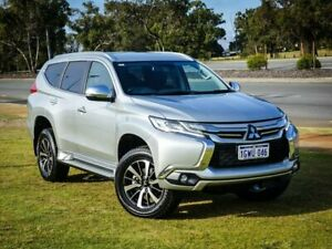 2018 Mitsubishi Pajero Sport QE MY18 GLS Silver 8 Speed Sports Automatic Wagon