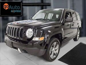2016 Jeep Patriot Sport with leather heated front seats, sunroof