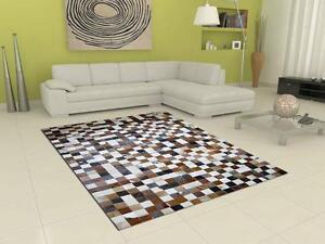 cowhide rug decoration promotion patchwork