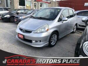 2007 Honda Fit Sport Sport 5spd