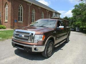 2011 Ford F-150 King Ranch-4X4+SUNROOF+TONNEAU COVER