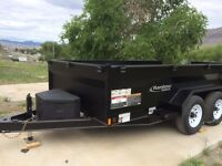 2016 Rainbow HD Dump Trailer  End of Nov Sale 7 x 12  9900 GVW