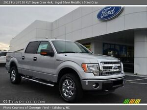 2013 Ford F-150 Grey Pickup Truck