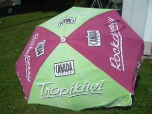 Collectible Limited Edition Canada Cooler Patio Umbrella....
