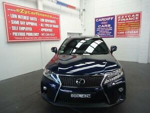 2013 Lexus RX350 GGL15R MY12 F-Sport Blue 6 Speed Automatic Wagon Cardiff Lake Macquarie Area Preview