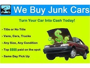 Towing service& cash for junk unwanted accident old cars Strathcona County Edmonton Area image 5