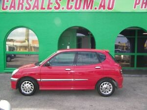 2004 Daihatsu Sirion M101RS GTVi Red 5 Speed Nailsworth Prospect Area Preview