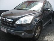 2007 Honda CR-V RE MY2007 Sport 4WD Black 5 Speed Automatic Wagon Underwood Logan Area Preview