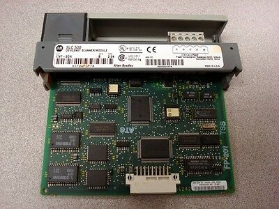 Used Allen Bradley 1747-sdnb Slc 500 Devicenet Scanner Module 2.04