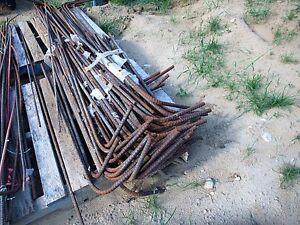 Barres d'armature / rod a ciment