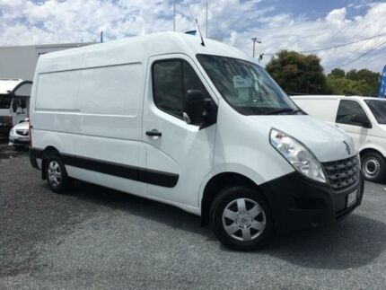 2014 Renault Master X62 MY13 3.5 MWB Mid White 6 Speed Manual Van Currumbin Waters Gold Coast South Preview