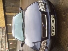 Volvo s40 well maintained car. Automatic, 1year M.O.T No road tax. 1year full service