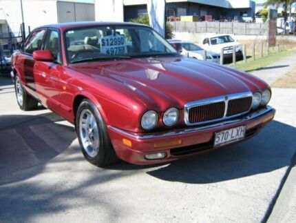 1997 Jaguar XJ6 XJ40 Sport Ruby Red 4 Speed Automatic Sedan Coopers Plains Brisbane South West Preview