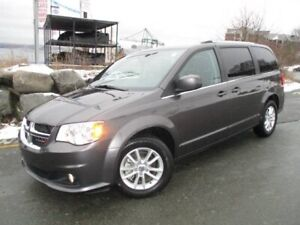 2018 Dodge Grand Caravan Premium Plus DVD & NAV ($26977, ORIGINA