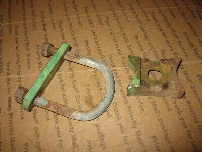 2 John Deere Cultivator Gauge Wheel Pipe Clamps N130038 Many Models A B H 4020