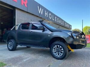 2015 Mazda BT-50 UP0YF1 XT Grey 6 Speed Sports Automatic Utility Mayfield West Newcastle Area Preview