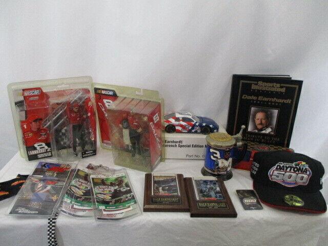 Lot of Dale Earnhardt Sr & Dale Earnhardt Jr Memorabilia Nascar