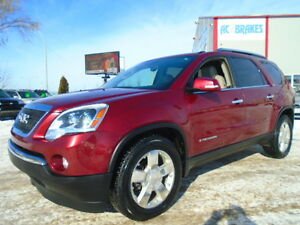2008 GMC Acadia SLT1 PKG-LEATHER-DVD-HDTV--AWD--ONE OWNER--106KM