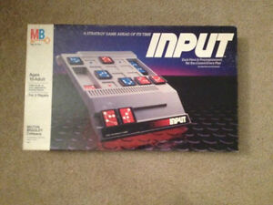 Input -Strategy Game-1984--complete and in good condition London Ontario image 1