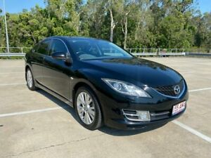2008 Mazda 6 GH Luxury Sports Black 5 Speed Auto Activematic Hatchback Morayfield Caboolture Area Preview