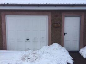 Garage and passenger door