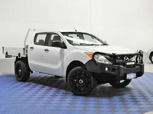 2012 Mazda BT-50 XT (4x4) White 6 Speed Manual Dual C/Chas East Rockingham Rockingham Area Preview