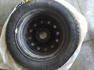 Highly rated Winter Tires General Altimax Arctic 185/60R15 +rims Kitchener / Waterloo Kitchener Area image 2