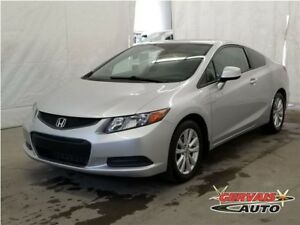 Honda Civic Coupe EX-L GPS Cuir Toit Ouvrant MAGS 2012