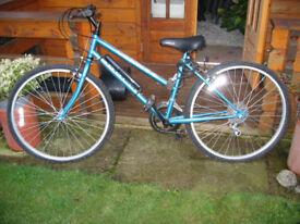 A lady's bike.