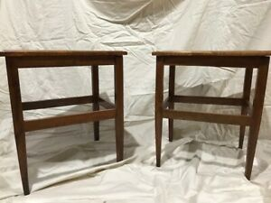 Vintage Mid Century Modern End / Side Tables