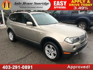 2008 BMW X3 3.0si Leather Heated seats Sunroof