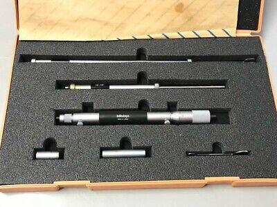 Machinist Lathe Tool Mill Machinist Mitutoyo Inside Micrometer Gage Set 141 121