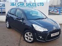 CITROEN C3 1.6 EXCLUSIVE 5d AUTO 118 BHP A LOW PRICE 5DR FAMI (black) 2011