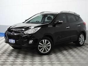 2011 Hyundai ix35 LM MY11 Highlander (AWD) Black 6 Speed Automatic Wagon Jandakot Cockburn Area Preview