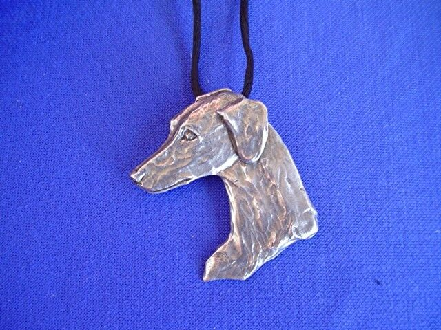 Saluki Smooth necklace #15K Sloughi Sight Hound DOG Jewelry by Cindy A.Conter