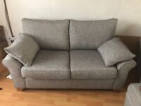 MUST GO - 2 BRAND NEW SOFAS AND STORAGE STOOL