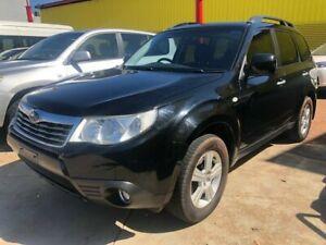 2008 Subaru Forester S3 MY09 XS AWD Premium Black 4 Speed Automatic Wagon Stuart Park Darwin City Preview