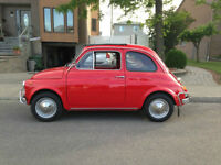 BEAUTIFUL 1970 FIAT 500L - ORIGINAL FROM ITALY - RARE!! MUST SEE