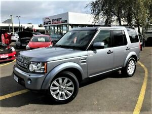2012 Land Rover Discovery 4 Series 4 MY12 SDV6 CommandShift HSE Grey 6 Speed Sports Automatic Wagon Seaford Frankston Area Preview