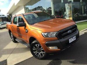 2016 Ford Ranger Orange Sports Automatic Utility