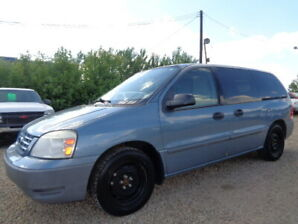 2005 FORD FREESTAR ADVANCE TRAC--CARGO--NO ACCIDENT-ONLY 62K VAN