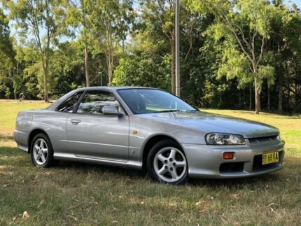 1998 Nissan Skyline R34 GT4 Silver 5 Speed Manual Coupe