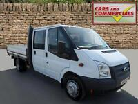 2013 FORD TRANSIT DROPSIDE DOUBLE CAB 350 LWB EF 1 Stop 125ps