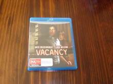 VACANCY BLU-RAY - AS NEW CONDITION Toronto Lake Macquarie Area Preview