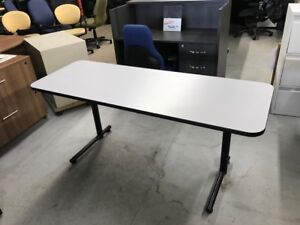 Training tables, used 66x24 in excellent condition $149.99