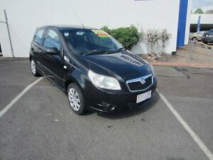 2008 Holden Barina TK MY08 Black 5 Speed Manual Hatchback Buderim Maroochydore Area Preview