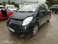 TOYOTA YARIS 2006 BREAKING FOR SPARES TEL 07814971951 HAVE FEW IN STOCK