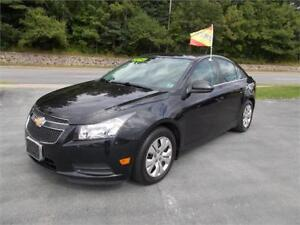 2014 Chevrolet Cruze 1LT BACKUP CAMERA-BLUETOOTH-REDUCED $99 BW