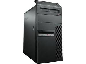 Lenovo ThinkCentre M82 Tower Desktops (8 available)